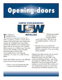 Opening Doors: USW Policy on Disability Rights