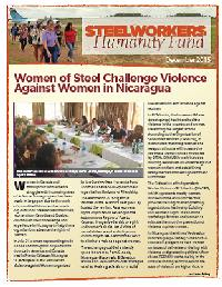 Women of Steel Challenge Violence Against Women in Nicaragua