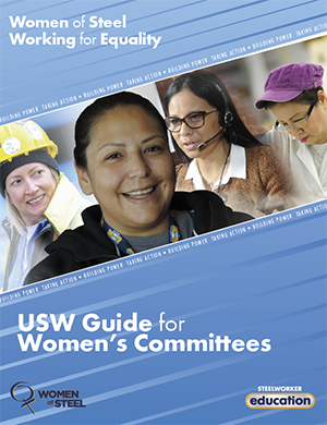 Cover page of USW Guide for Women's Committees