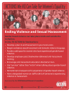 Ending Violence and Sexual Harassment