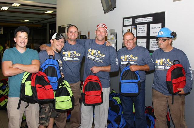 Operation Backpack 2015