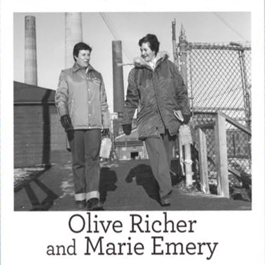 Olive Richer and Marie Emery