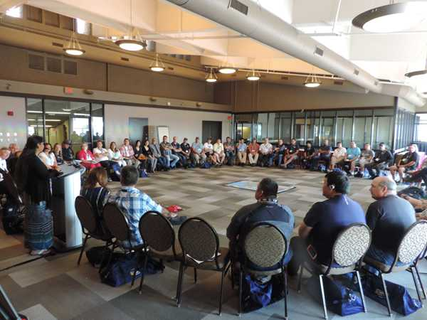 United Steelworkers National Aboriginal Workshop session