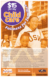 $15-per-day Childcare