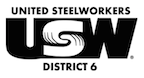 USW District 6 logo