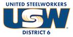 USW District 6 colour logo
