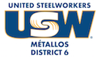 USW District 6 bilingual colour logo